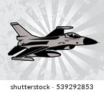 fighter jet | Shutterstock .eps vector #539292853