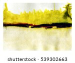 abstract art painting as a... | Shutterstock . vector #539302663
