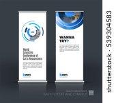 abstract business vector set of ... | Shutterstock .eps vector #539304583