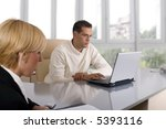 businessteam at the office... | Shutterstock . vector #5393116