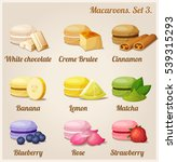 colorful cookies with different ... | Shutterstock . vector #539315293