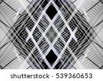 overlay of grid structures.... | Shutterstock . vector #539360653