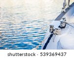 Luxury Sailing Yacht Anchoring...