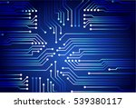 dark blue abstract vector... | Shutterstock .eps vector #539380117