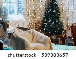 beautiful holiday decorated... | Shutterstock . vector #539383657