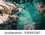 Turquoise Sea Water Beach Top...