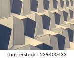 abstract metallic texture... | Shutterstock . vector #539400433