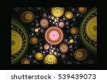 beautiful fractal | Shutterstock . vector #539439073
