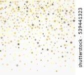 gold glittering background... | Shutterstock .eps vector #539441323