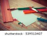 business back to school... | Shutterstock . vector #539513407