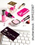concept online shopping... | Shutterstock . vector #539522587