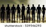 business people success... | Shutterstock . vector #539546293