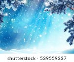 merry christmas and happy new... | Shutterstock . vector #539559337