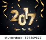 2017 happy new year background... | Shutterstock .eps vector #539569813