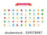 district icon collections.... | Shutterstock .eps vector #539578987