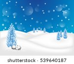 christmas background with... | Shutterstock .eps vector #539640187