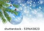 abstract image of christmas...   Shutterstock . vector #539643823
