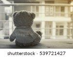 lonely teddy bear | Shutterstock . vector #539721427