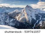 Morning View Of Dolomites At...