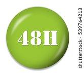48h button   Shutterstock .eps vector #539764213