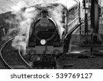 historic vintage steam railway... | Shutterstock . vector #539769127