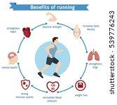 man running vector illustration.... | Shutterstock .eps vector #539776243