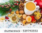christmas holiday background... | Shutterstock . vector #539793553