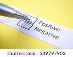 positive or negative  positive.   Shutterstock . vector #539797903