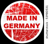 made in germany | Shutterstock .eps vector #53980531