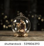 nativity scene with hand...   Shutterstock . vector #539806393