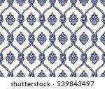 rope seamless tied fishnet... | Shutterstock . vector #539843497