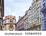 old town ancient architecture... | Shutterstock . vector #539849953
