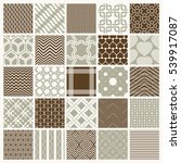 vector ornamental seamless... | Shutterstock .eps vector #539917087