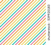 seamless bright diagonal... | Shutterstock . vector #539920183