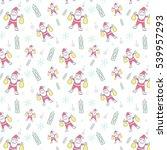 christmas pattern seamless...   Shutterstock .eps vector #539957293