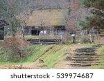 hida folk village tree   Shutterstock . vector #539974687