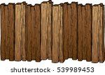 colored old wood plank isolated ...   Shutterstock .eps vector #539989453