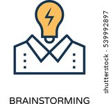 idea vector icon   Shutterstock .eps vector #539992897