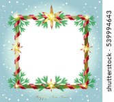 merry christmas and happy new... | Shutterstock .eps vector #539994643