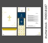 template design corporate... | Shutterstock .eps vector #540018187