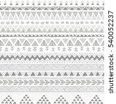 grey color tribal vector...   Shutterstock .eps vector #540052237