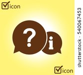 information exchange theme icon ...
