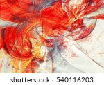 bright artistic splashes.... | Shutterstock . vector #540116203