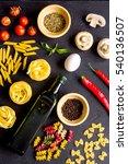 ingredients for cooking paste... | Shutterstock . vector #540136507