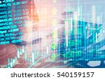 stock market or forex trading... | Shutterstock . vector #540159157