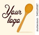 wooden spoon vector   Shutterstock .eps vector #540169087