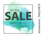 big sale flyer  happy holidays . | Shutterstock .eps vector #540229873