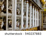 pipelines on oil and gas... | Shutterstock . vector #540237883