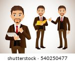 elegant people businessman   Shutterstock .eps vector #540250477
