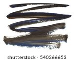 brush stroke and texture. smear ... | Shutterstock . vector #540266653